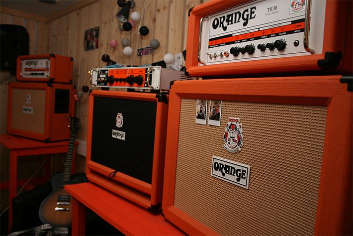 Orange förstärkare