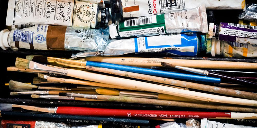 Kreativ zon: Måleri i akryl