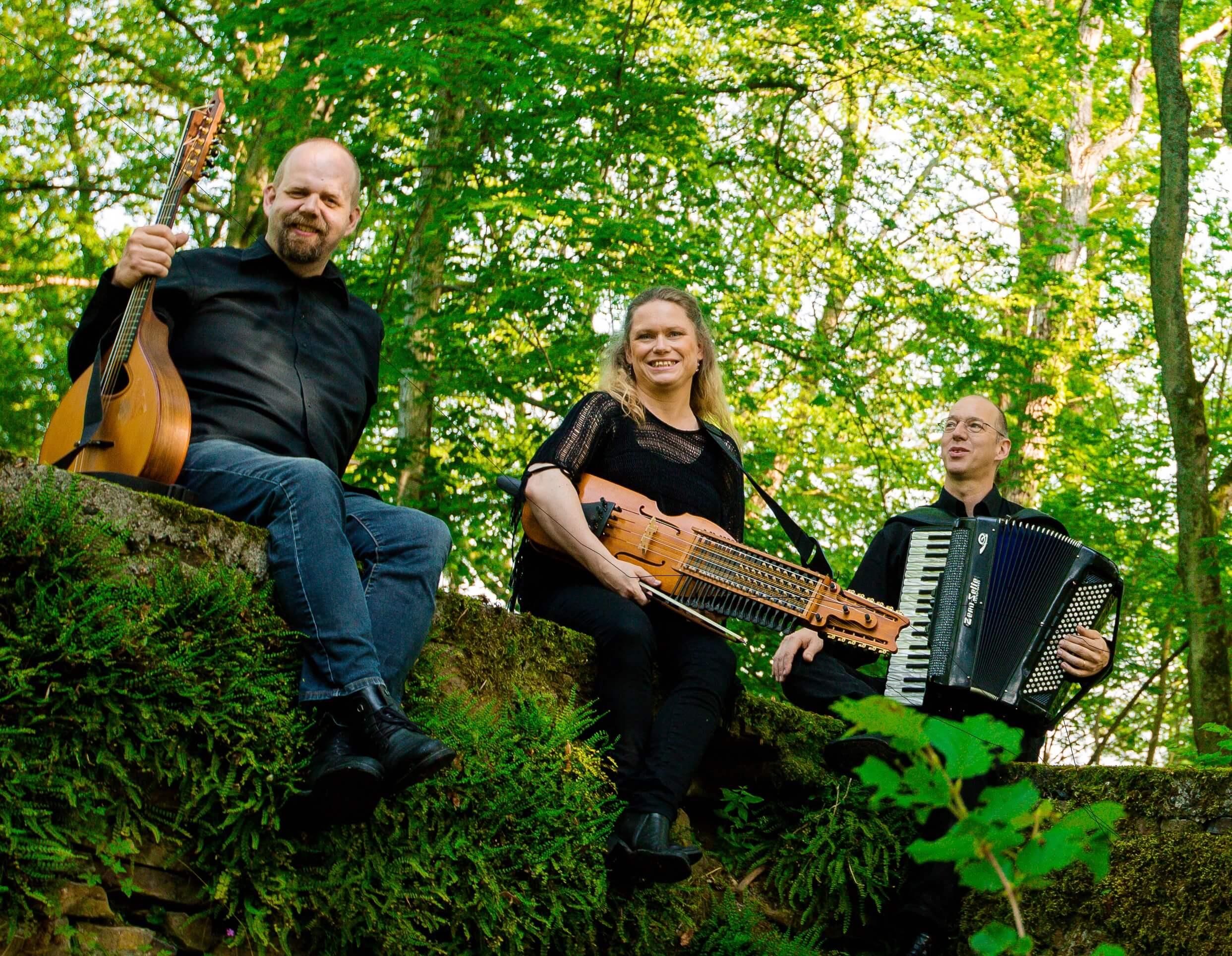 Folkmusikkonsert med Trio Larsson Mayr