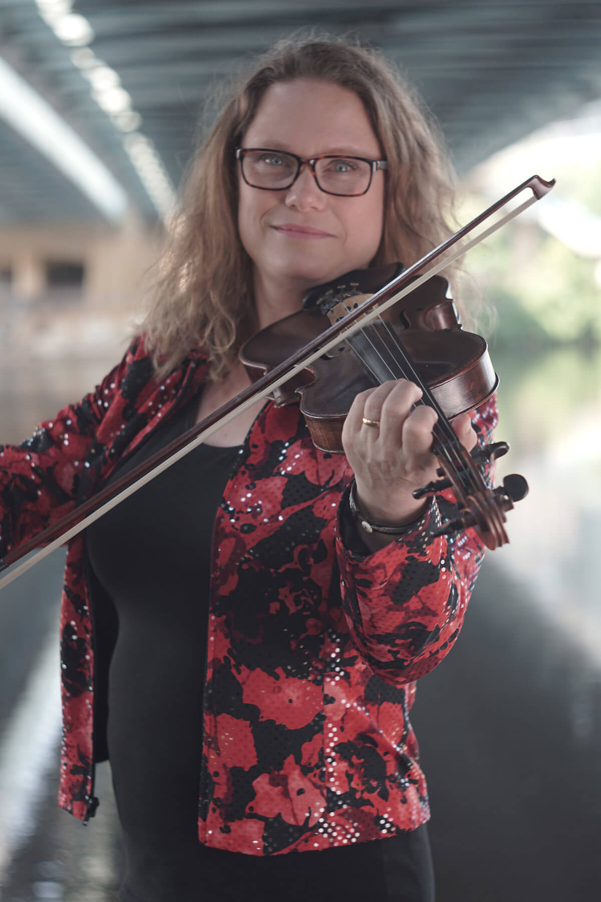 Folkmusikkurs för barn med Maria Larsson