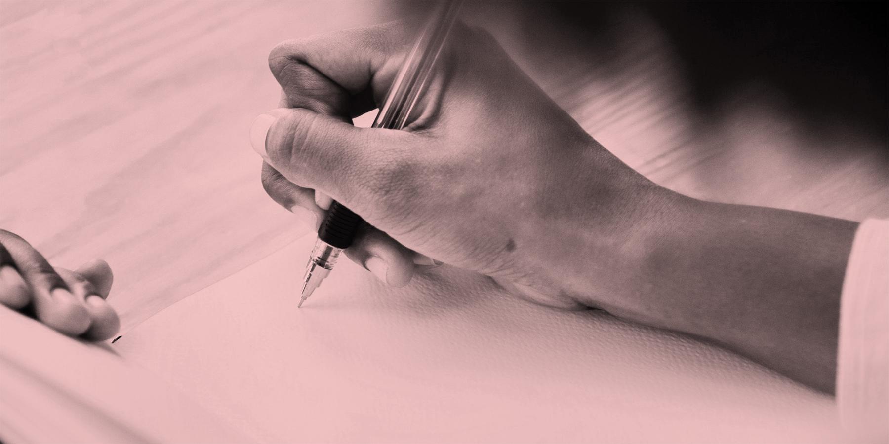 Prova på personligt skrivande