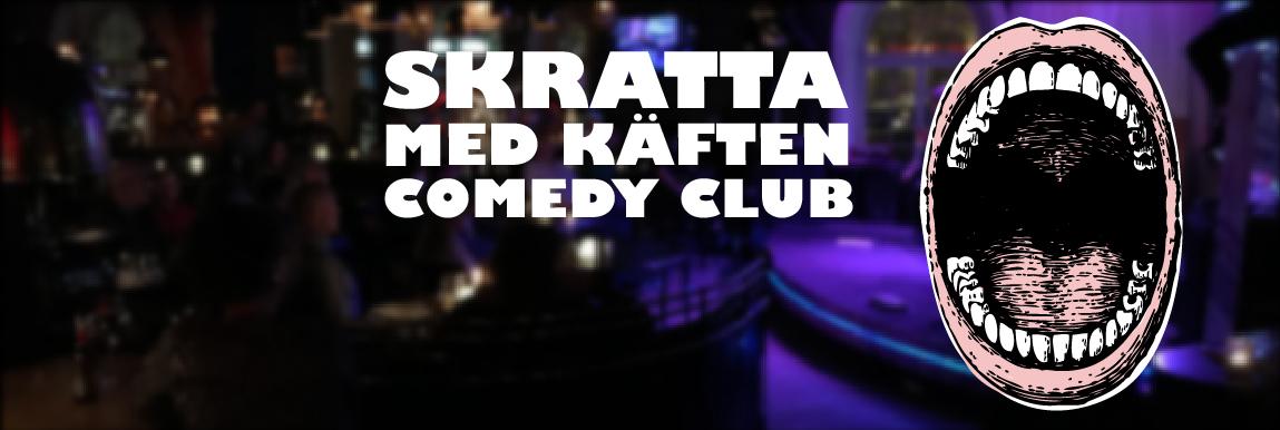 Skratta Med Käften Comedy Club presenterar Ami Hallberg Pauli
