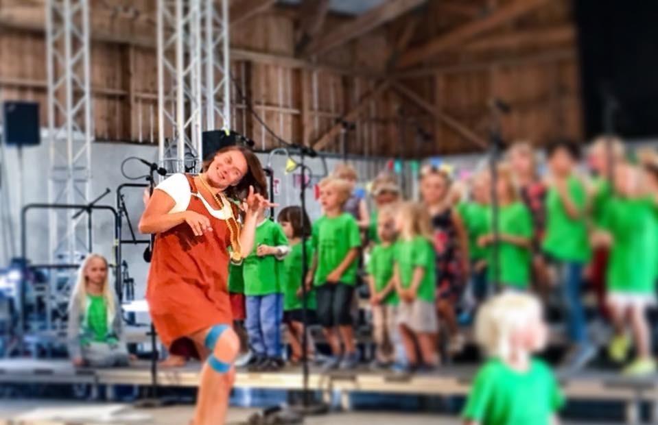 Barnkörveckan på Fårö – Barnkör 1 (8-9 år)