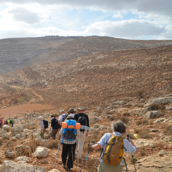 Pilgrimsvandring från Nasaret till Betlehem