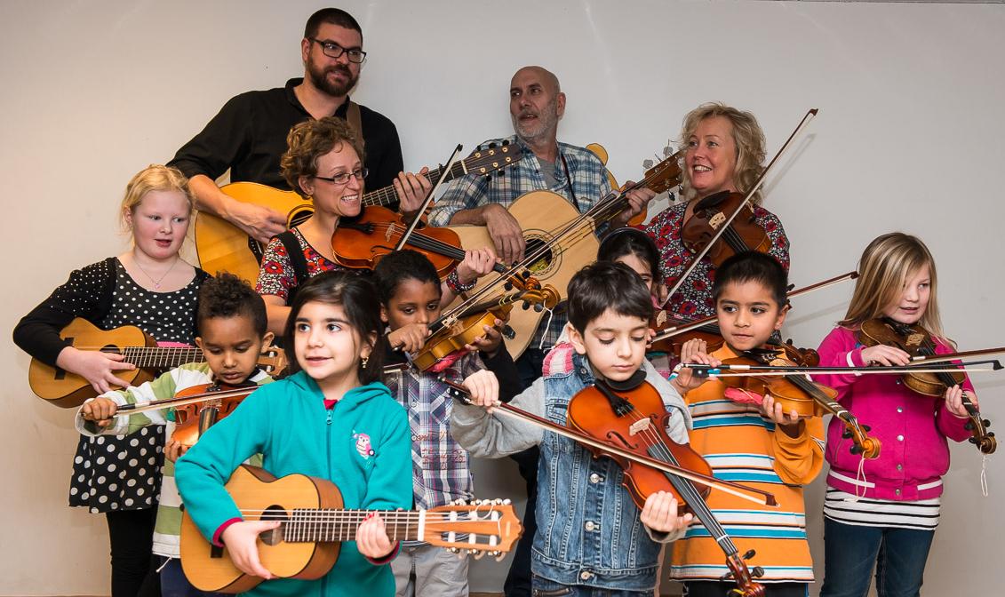 Spela med FolkUngar: musikworkshop – Färila
