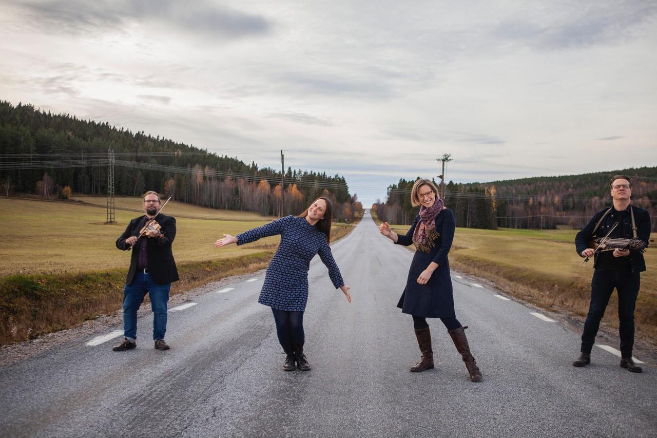 Konsert och skivsläpp med Breda gatan – Hudiksvall