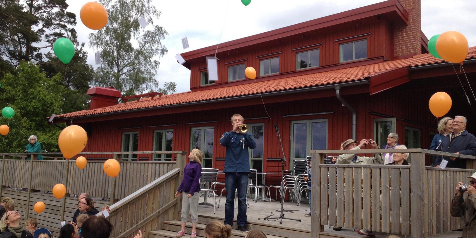 Sommarprogram på Tre Björkar, Smålandssten