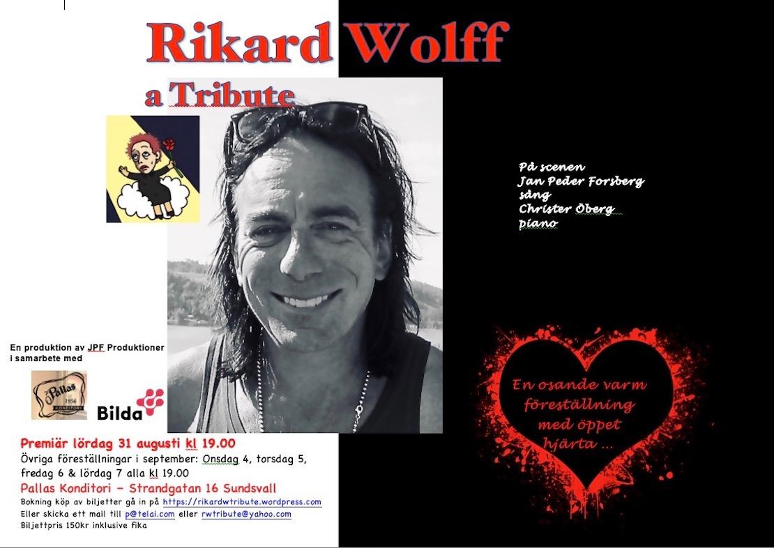 Rikard Wolff a Tribute – 5 föreställningar