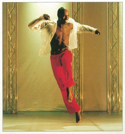 Manlig dansare