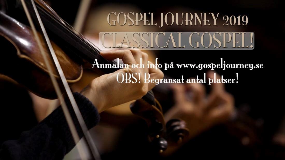 Gospel Journey – gospelkörsprojekt