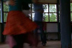 Folkdanskurs på Tingshuset