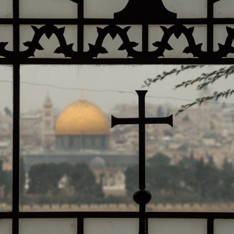utsikt över jerusalem