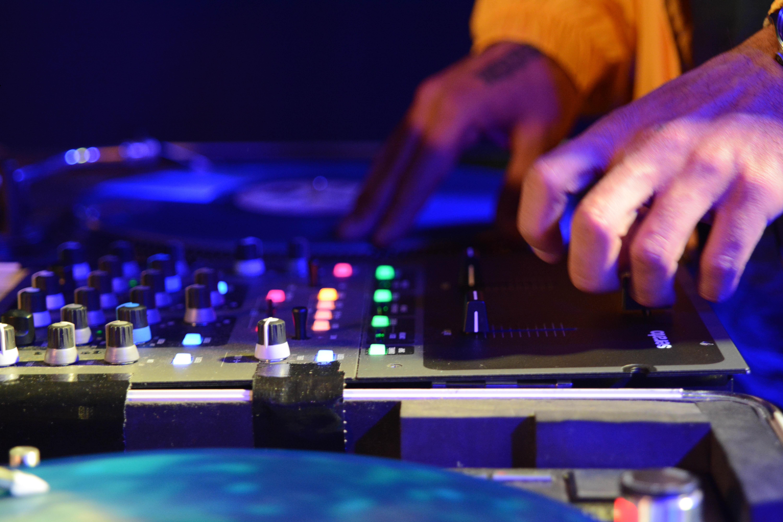 DJ mixerbord