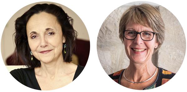 Anita Goldman och Ann-Sofie Lasell