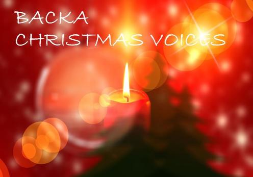 Julkör med Backa Christmas Voices