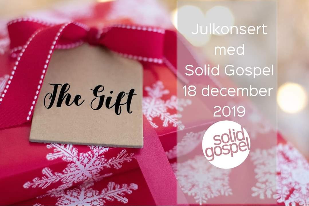 The Gift – Julkonsert med Solid Gospel på Reningsborg i Frölunda