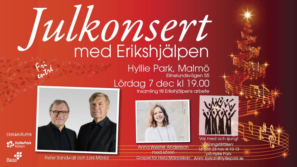 Julkonsert med Erikshjälpen