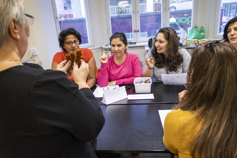 Språkcafé för kvinnor