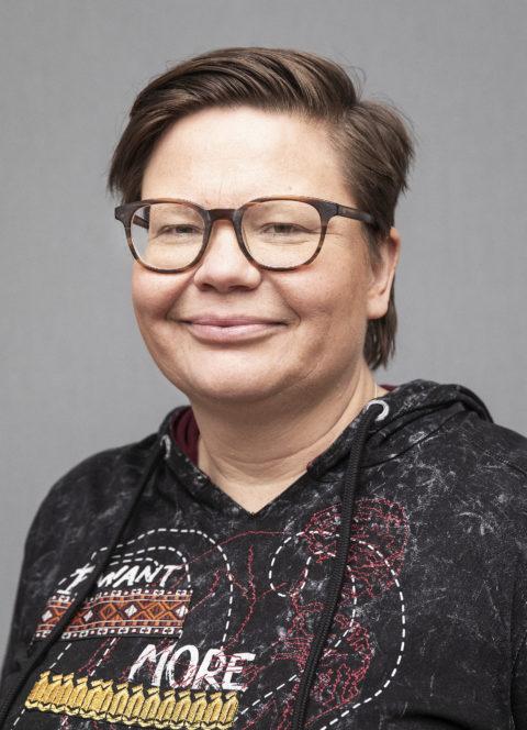 Porträtt på kvinna