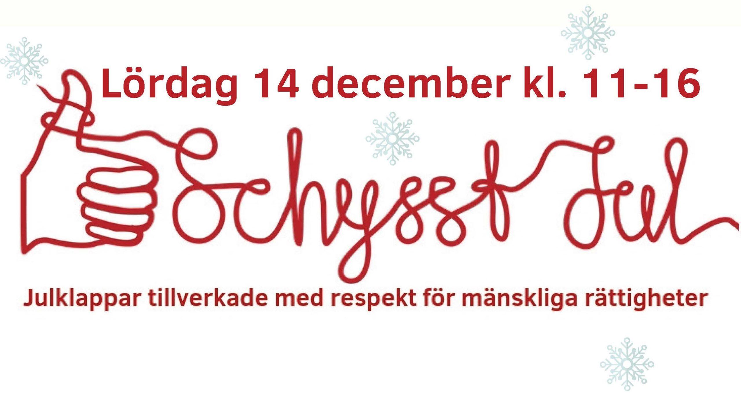 Schysst jul i Uppsala