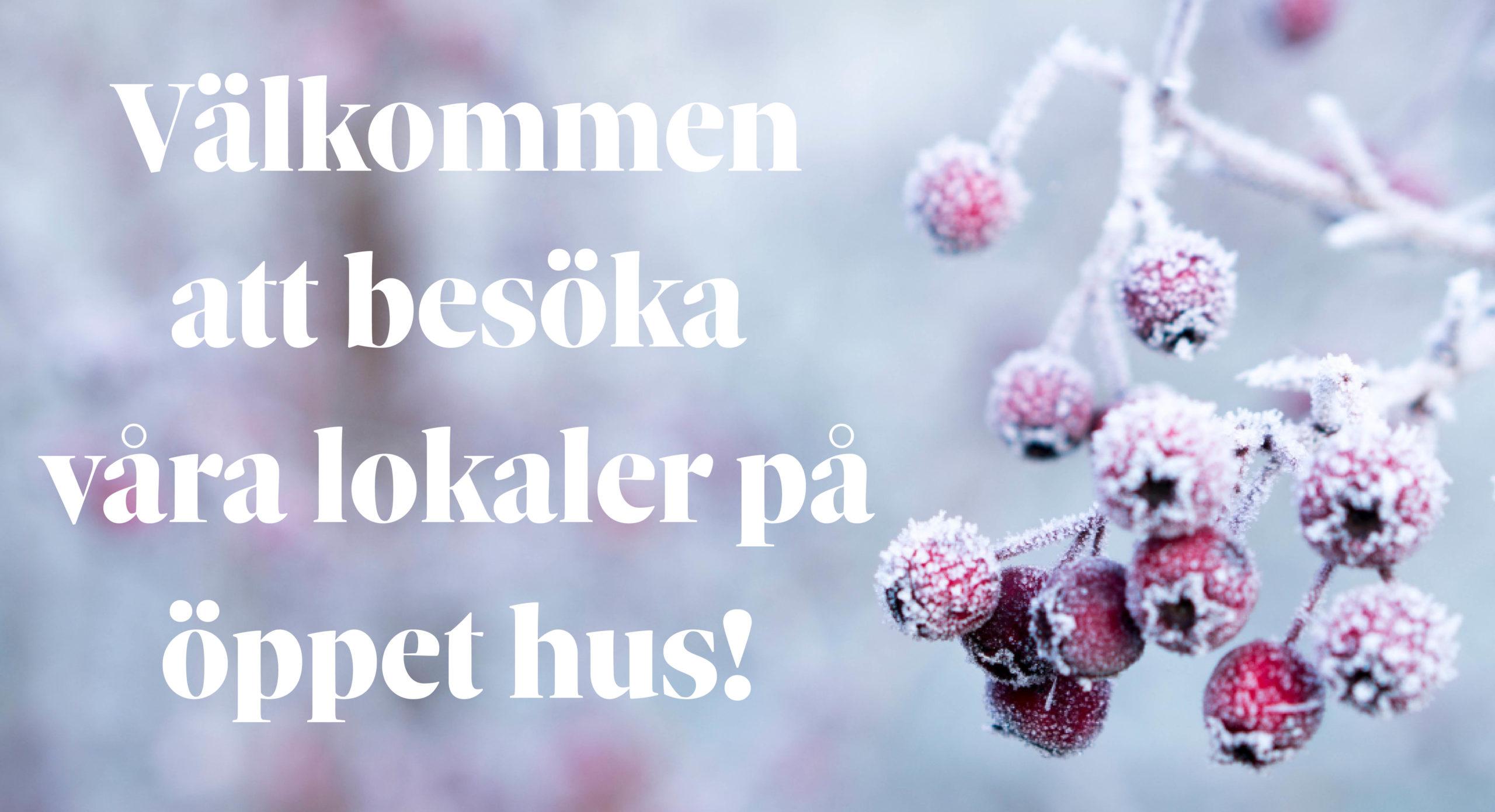 Välkommen på öppet hus i Örebro!