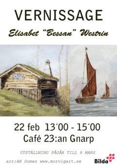 """Vernissage Elisabet """"Bessan"""" Westrin"""