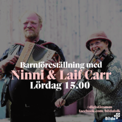 digiSTÄMMAN: Barnföreställning med Ninni & Laif Carr