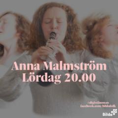 digiSTÄMMAN: Konsert med Anna Malmström