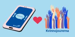 #killmiddag online – Vi stödjer Umeå kvinnojour!