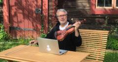 Följ med Per Gudmundson in i folkmusikarkivet WebbFIOL på # digistämman